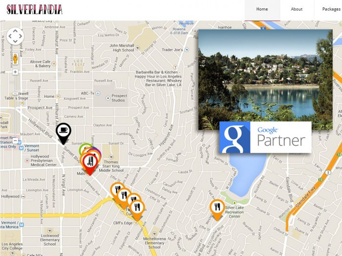 Website Depot Interactive Map of Silver Lake