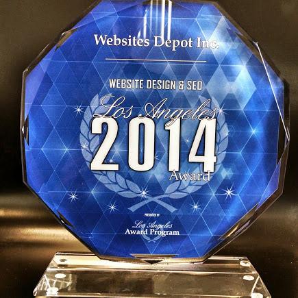 SEO Google Trophy