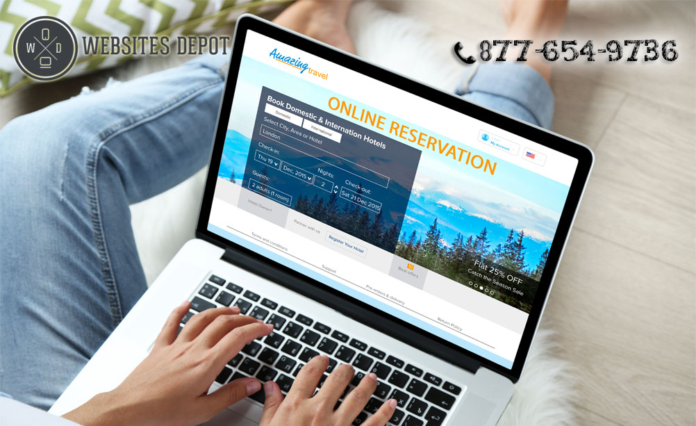 Common Mistakes in Hotel Web Designing