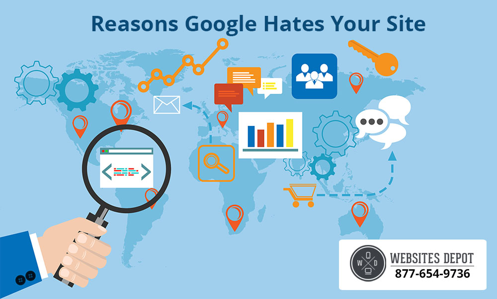Reasons Google Hates Your Site