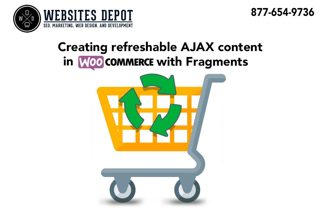 woocommerce creating refreshable ajax content fragments