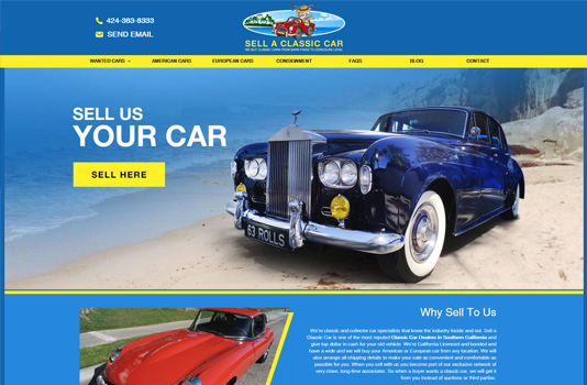 Sell a Classic Car