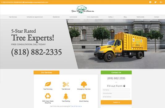 Your Way Tree Service Inc