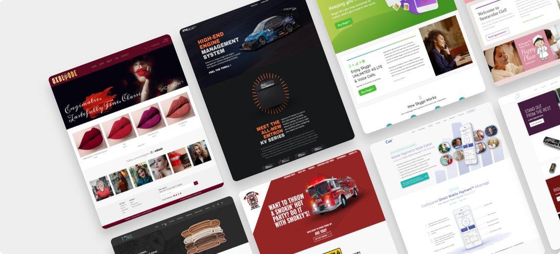 professional web design