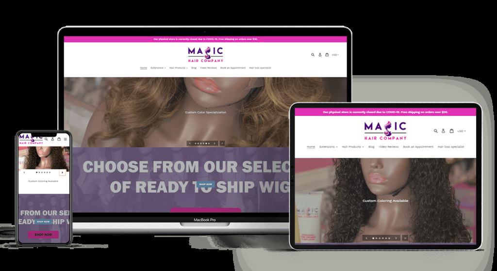 magic hair company devices