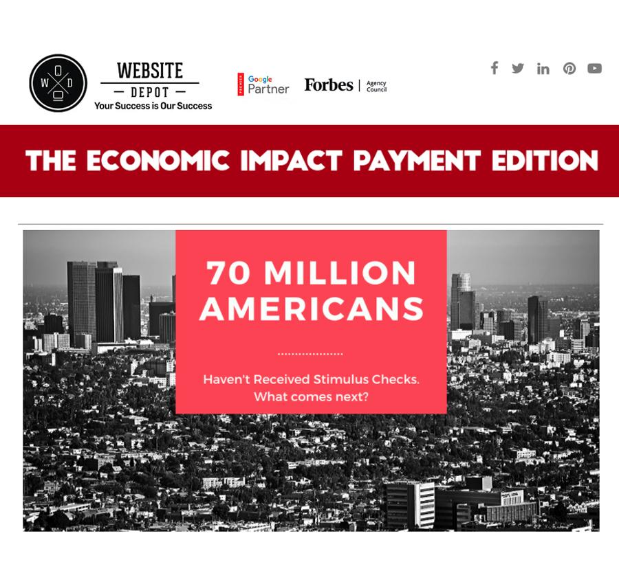 website depot newsletter digital marketing agency