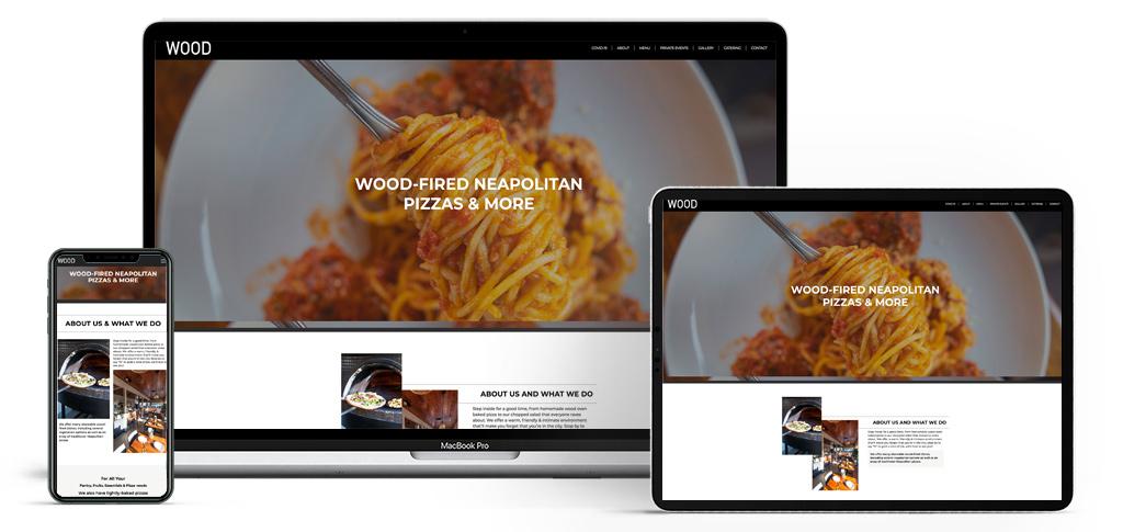 wood pizza