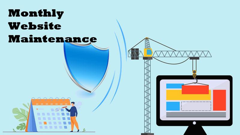 monthly website maintenance