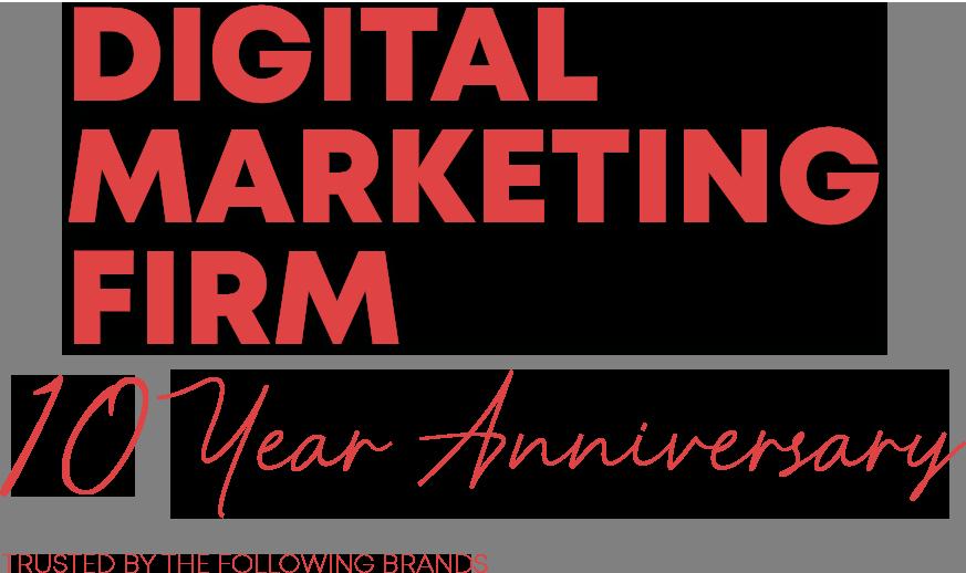 website depot  year digital marketing firm anniversary